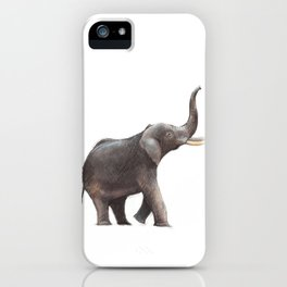 Elephant Drawing iPhone Case
