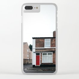 derbyshire archtecture Clear iPhone Case