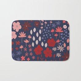 Ditsy Floral Bath Mat