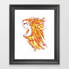 Firebeauty Framed Art Print