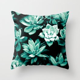 Succulent PATTERN III Throw Pillow