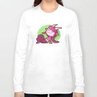capricorn Long Sleeve T-shirts featuring Capricorn by Chiara Zava