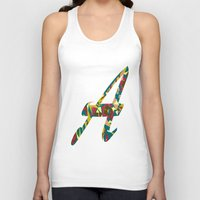 font Tank Tops featuring A font by riz lau
