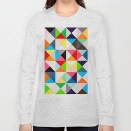 Geometric Morning Long Sleeve T-shirt