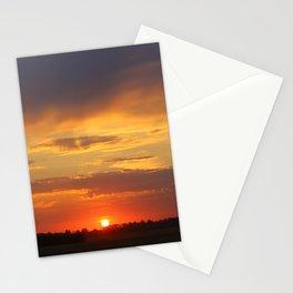 sunset sunset sundown Stationery Cards