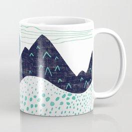 Mountain Biking - The Gravel Path Less Traveled Coffee Mug