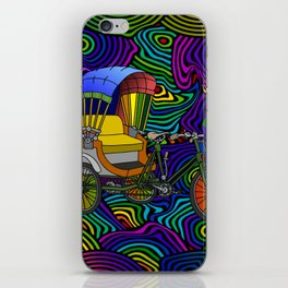 Psychedelic Rickshaw iPhone Skin