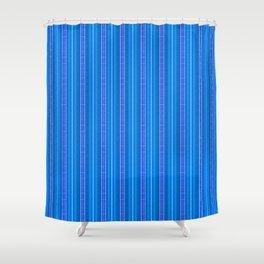 Stoner-Deep-Sea-Stripe Shower Curtain