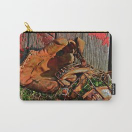 Old School Baseball Carry-All Pouch