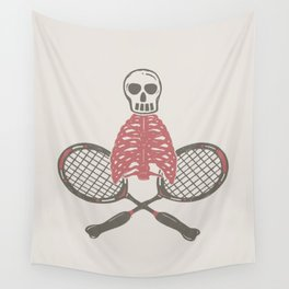 (BAD)MINTON Wall Tapestry