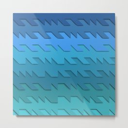 Midday Waves Metal Print