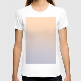 ASHES AND CREAM - Minimal Plain Soft Mood Color Blend Prints T-shirt