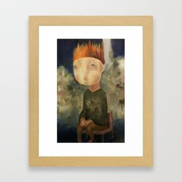 Little King Framed Art Print
