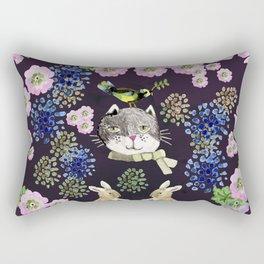 Cat Rabit Rectangular Pillow