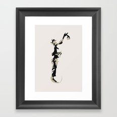 Spraypainter Framed Art Print