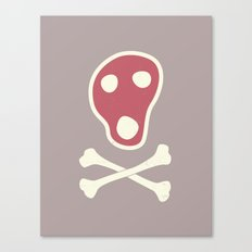 Pirates of Steaks Canvas Print