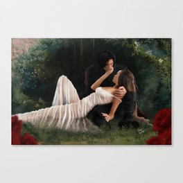 The Woods Are Lovely, Dark and Deep Canvas Print