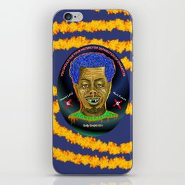 The French Face of Money iPhone Skin