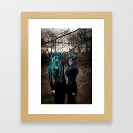 Witch Sisters I Framed Art Print