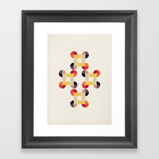 'round and 'round  Framed Art Print