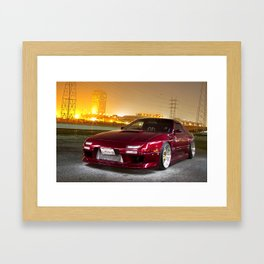 Night Rider Framed Art Print