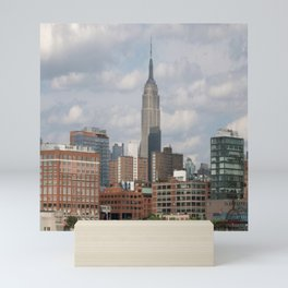 NY city view Mini Art Print