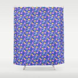 Cool Citrus Shower Curtain