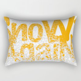 SnoW AgaiN and the PolaR BearS Rectangular Pillow