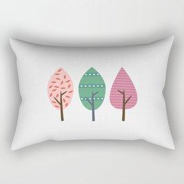 Easter trees Rectangular Pillow