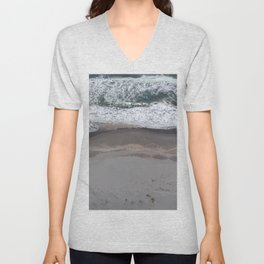 Pacific Beach Waves Unisex V-Neck