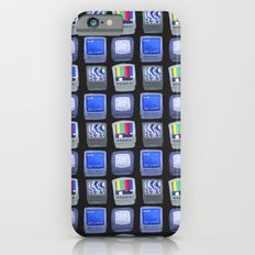TV Pattern iPhone 6s Slim Case