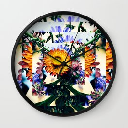 Fall into Me Wall Clock