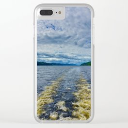 Loch Ness Clear iPhone Case