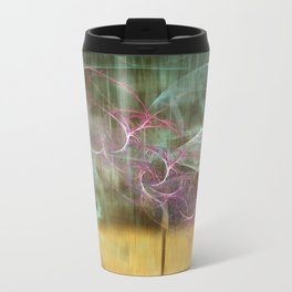 Laundry Line in Abstract Travel Mug
