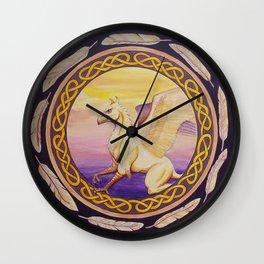 The Guardian - Celtic Griffin mandala Wall Clock