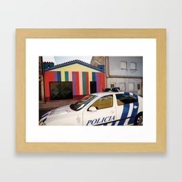 Not a Crime Framed Art Print