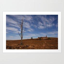 Flinders Ranges Desert Landscape Art Print