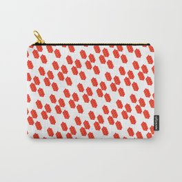 Pattern | Red Triangles Carry-All Pouch