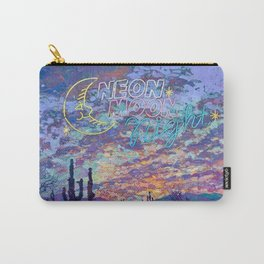 Neon Moon Night Carry-All Pouch