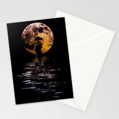 Rainman at Moonrise Stationery Cards