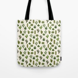 Cacti parade Tote Bag