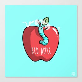 RED APPLE Canvas Print