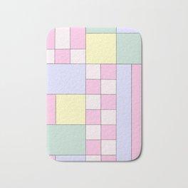 Pastel Block Bath Mat
