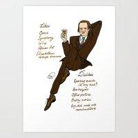 Frasier Crane Pin-up Art Print