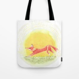 Epa, the Fox King 5 Tote Bag