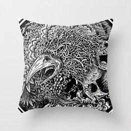 Wild Inside 2 Throw Pillow