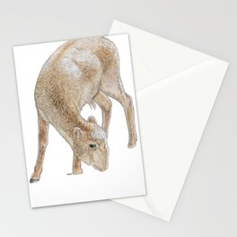 Demure Yak Stationery Cards