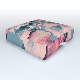 Vintage Nui Loa Hibiscus Outdoor Floor Cushion