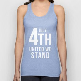 4th July United We Stand Unisex Tank Top