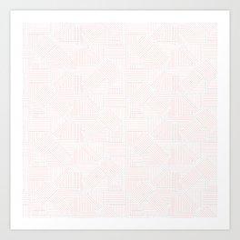 Linework Geometric Art Print